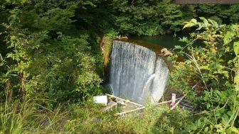 【大源太キャニオン】ボート乗りました!吊り橋の上から眺める「四十八滝」が豪快。
